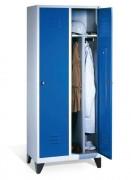 Armoire industrielle - Dimensions extérieures H x largeur (mm) : 1950 x 810 et 2 compartiments
