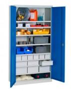 Armoire industrielle en kit - Dim.(LxPxH): 1000x500x1950 mm