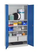 Armoire industrielle en kit - Dim.(LxPxH) : 1000x500x1950 mm