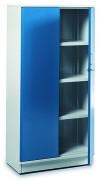 Armoire industrielle haute à étagères réglables - Dimensions (L x l x h)mm : 800 x 425 x 1600