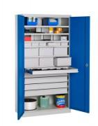 Armoire industrielle pour atelier - Dim.(LxPxH) : 1000x500x1950 mm