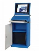 Armoire informatique anti poussière - Dimensions : L640x P405 x H1630