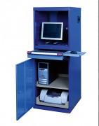 Armoire informatique d'atelier ventilée - Capacité de charge : 100 kg - Hauteur externe : 1600 mm