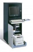 Armoire informatique industrielle en tôle d'acier - Dimension intérieure du compartiment (H x L x P) : 525 x 545 x 660 mm