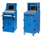 Armoire informatique pour cran plat - Armoire informatique industrielle ...