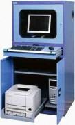 Armoire informatique tôle d'acier stable - Dimensions : L 800 x P 695 x H 1600 mm