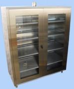 Armoire laboratoire ventilée à portes vitrées - Dimensions selon cahier des charges du client