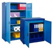 Armoire métallique industrielle - Dimensions (L x P x H) mm : De 1000 x 500 x 1000 - 1250 x 580 x 1950