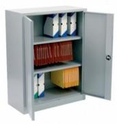 Armoire monobloc à portes battantes H 100 - Dimensions en cm :  100x90 - 100x100 - 100x120