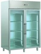 Armoire négative à 2 portes vitrée - 2 portes vitrées à fermeture automatique