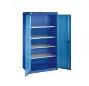 Armoire portes battantes - Dimensions extérieures (H x l x P) : 1950 x 1250x 580 mm