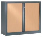 Armoire portes rideaux - Dimensions en cm : 160x80 - 160x100 - 160x120