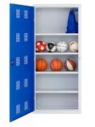 Armoire pour ballons - Dimensions : 1970 x 900 x 400 mm