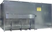 Armoire pour déchets dangereux ménagers - DDM - DMS - M0 - incombustible - Pose sans permis de construire