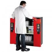 Armoire pour produits dangereux 600 l - Volume du bac : 33 litres - Volume de l'armoire : 600 litres