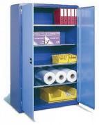 Armoire professionnelle monobloc portes battantes - Stockage en grand volume