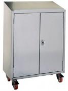Armoire pupitre d'atelier 2 portes - Dimensions (L x P x H) mm : 800 x 400 x 1170