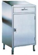 Armoire pupitre d'atelier avec tiroir - Dimensions (L x P x H) mm : 500 x 400 x 1170