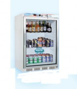Armoire réfrigérée 200 L - Froid positif +2 +8°C - Puissance : 150 W - R134a - Vitrée