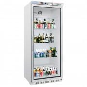 Armoire réfrigérée 600 L avec porte vitrée - Froid positif : +2° +8°C  - Capacité : 600 L - Dimensions (L x l x H) 777 x 695 x 1895 mm