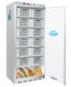 Armoire réfrigérée 600 L froid négatif - Froid négatif : -18° -22°C - Capacité : 600 L - Dimensions (L x l x H) 775 x 720 x 1990 mm