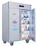 Armoire réfrigérée froid négatif 2 portes - Froid négatif -10 -22°C - 560 W