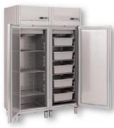 Armoire réfrigérée monocoque 400 ou 750 L - 400 ou 750 L - 1 ou 2 portes - froid positif ou négatif