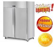 Armoire réfrigérée négative 2 portes - Capacité Frigo : 1400 Litres