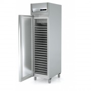 Armoire réfrigérée patissière - Capacité (L) : Jusqu'à  1330 -  Porte vitrée ou réversible - Certifiée  ISO 9001 et ISO 14001