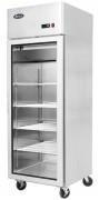 Armoire réfrigérée positive 1 porte vitrée - Capacité : 450 Litres