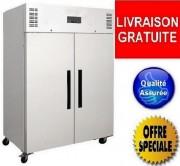 Armoire réfrigérée positive 2 portes - Capacité Frigo : 1200 Litres