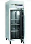 Armoire réfrigérée sur roulettes à froid négatif - Réfrigération statique + ventilateur -18°C/-22°C à 40°C