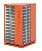 Armoire rotative en bois à bloc tiroirs - Disponible en plusieurs modèles
