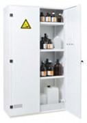 Armoire sécurité à 3 étagères - Dimensions extérieures (H x l x P) : 1950  x 1100 x 500 mm