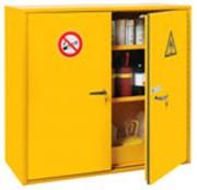 Armoire sécurité multirisques inflammables - Dimensions extérieures (HxlxP) : 1100 x 600- 1200 x 520 mm