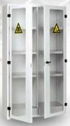 Armoire stockage produits chimiques - Dimensions intérieures : De 610 x 506 x 474 à 1911 x 1026 x 474