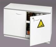 Armoire sûreté produit corrosif - Dimensions extérieures (HxlxP) : 700 x 1100 x 550 mm