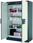 Armoire ventilée pour produits dangereux - Filtration intégrée