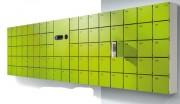 Armoire vestiaire à petits casiers - Fermeture électronique empreinte digitale