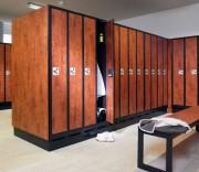 Armoire vestiaire à ventilation - Les portes peuvent même être changées ultérieurement