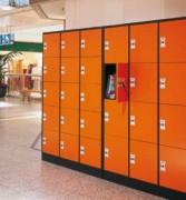 Armoire vestiaire centre commercial - Armoire à casiers verrouillables