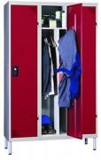Armoire vestiaire en tôle d'acier - Dimensions (L x P x H) mm : 400 x 500 x 1800
