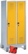Armoire vestiaire maternelle H.1350 mm - Hauteur : 1350 mm - Profondeur : 300 mm