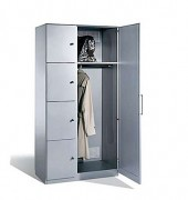 Armoire vestiaire pour bureaux - Une technologie de casiers verrouillable