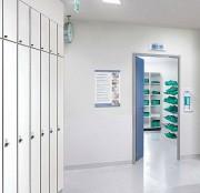 Armoire vestiaire pour clinique - Pour une hygiène performante dans les cliniques.