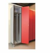 Armoire vestiaire pour industrie salissante - Dimensions (H x L) : 183.5 x 40 cm