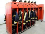 Armoire vestiaire sapeurs pompiers - Casiers pour centres de sécurité