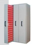 Armoires pour bacs à 3 panneaux extractibles - Portée de chaque panneau 200 Kg