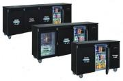 Arrière bar réfrigéré compact - 2/3/4 portes pleines