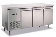 Arrière bar réfrigéré inox - Froid ventilé 2°C/5°C
